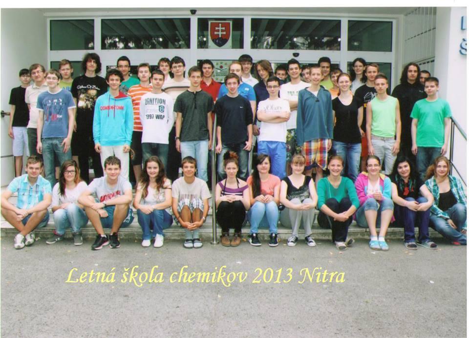 Fotografia účastníkov LŠCh 2013, Nitra