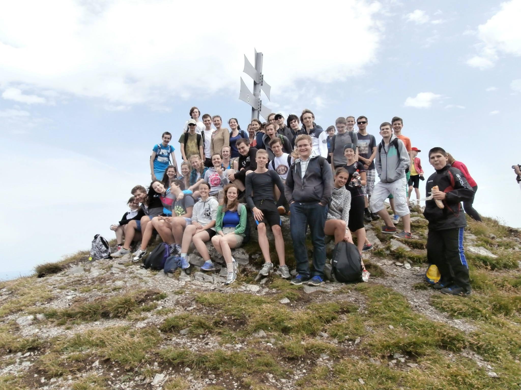 Fotografia LŠCh 2014 na horskej túre
