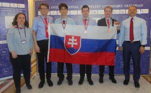 Fotografia delegácie Slovenska na IMChO 2019