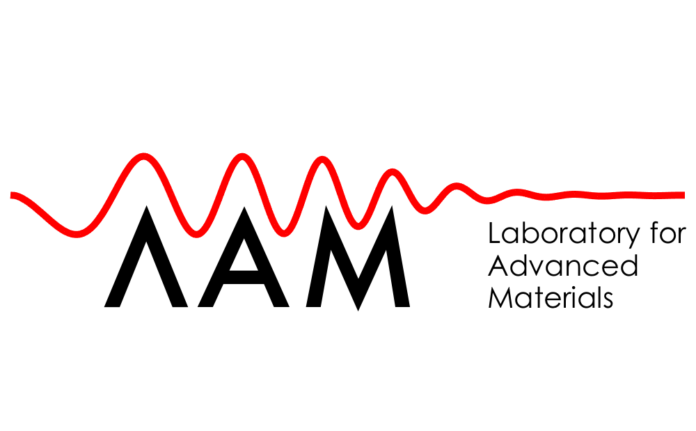 Logo Laboratória pokročilých materiálov
