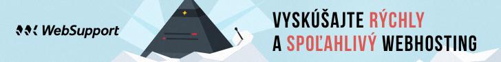 Reklamný banner WebSupport