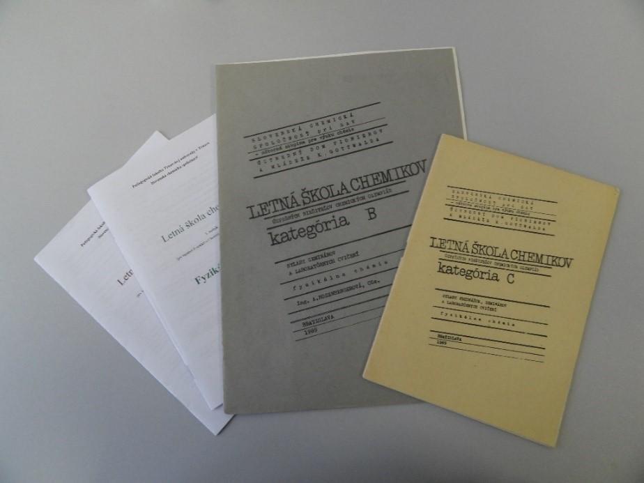 Brožúry pre účastníkov LŠCh