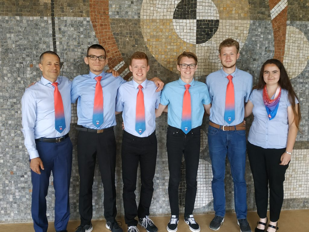 Fotografia delegácia Slovenska na IMChO 2020