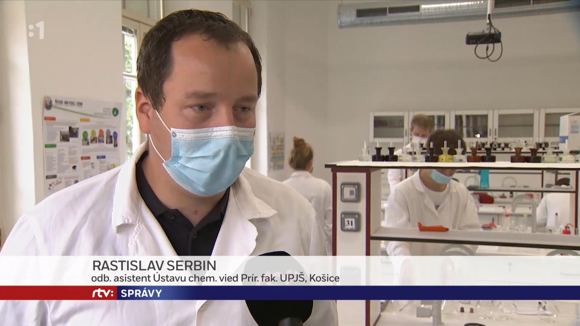 Dr. Serbin v správach RTVS