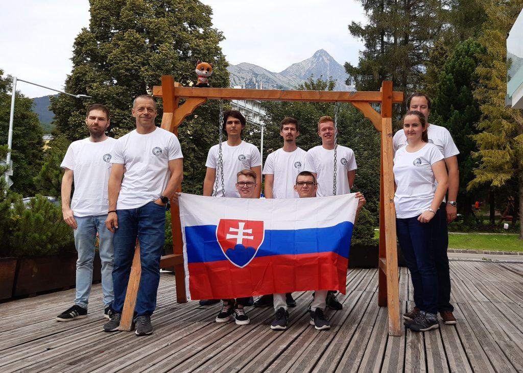 Fotogtafia SK reprezentácie na 52. IChO