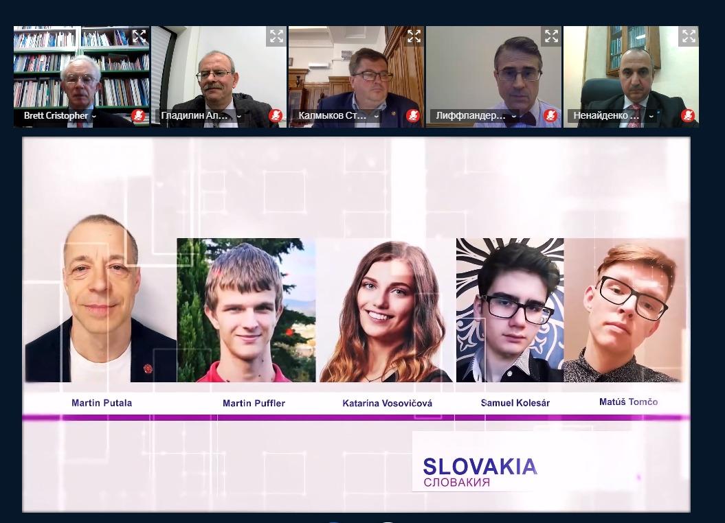 Slovenská reprezentácia na dištančnej IMChO 2021