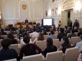 Otvorenie slávnostného ceremoniálu, príhovor predsedu SK ChO, pána docenta Martina Putalu
