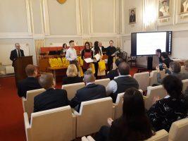 7. - 10. miesto v kategórii EF: Beata Pradlovská, Michal Irha, Viktória Tymčuková a Eva Tomečková