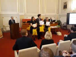 4. - 6. miesto v kateorii EF: Ivana Semanová, Matúš Tomášik a Michaela Smilkova