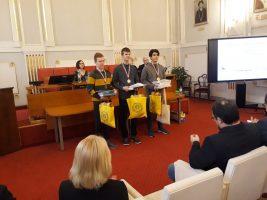 3., 2. a 1. miesto v kategórii A: Martin Brokeš, Martin Puffler a Andrej Kovács